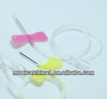 hot sale butterfly scalp vein set for medical using iv infusion set
