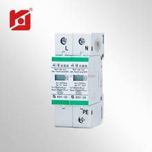 High quality three phase low voltage lightning surge arrester AC220 SPD/ AC power line protection KDY-20/320/2P
