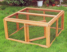 china cheap white wooden rabbit hutch