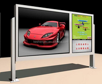 Advertising billboard/Outdoor furniture billboard/Bulletion board