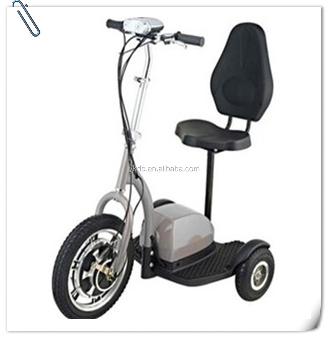 Adults Zappy 500W Tricycle 3 Three Wheels Electric Scooter with CE
