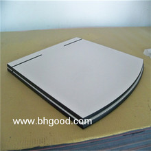 Outdoor high pressure resin compact laminate table tops