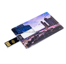 Custom Design doubel sides Business Card Visiting Card Credit Card usb 2.0 memory flash 8gb