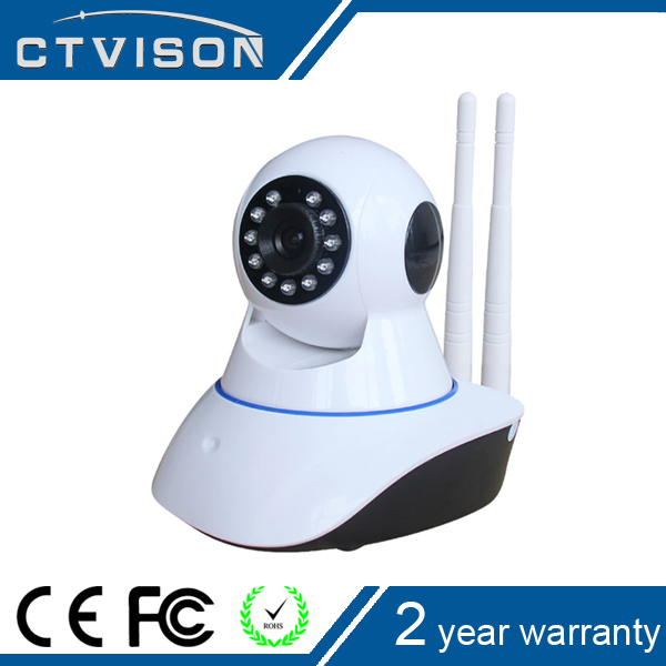 2016 New products Promotion personalized smart home wifi p2p ip camera 2 antenna wireless popular