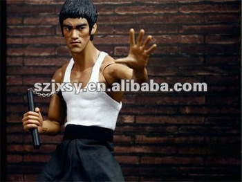 Bruce Lee Action Figure Statue