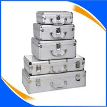 Aluminum portable tool boxes and cases