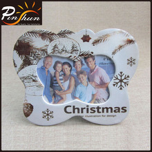"Christmas ceramic picture frame for 6"" X 4"" photo"