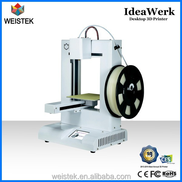 Ideawerk Desktop 3D Printer Quality Low Price Digital Printer Free Software LED Display Metal Design for Education for Designer