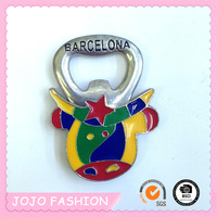 Fashion Barcelona Animal Cans Bottles And Cartoons Opener Keychain For Spain