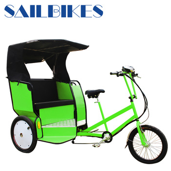 Electric battery powered auto rickshaw
