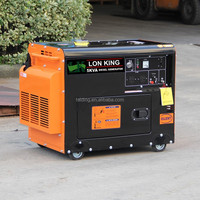 Best Quality 5kw diesel silent 3 phase generator for sale