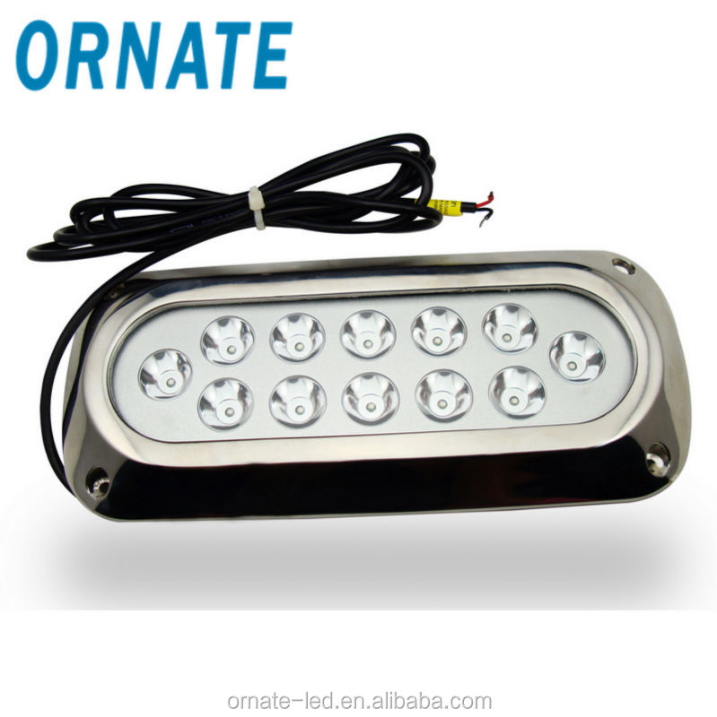 yacht underwater light 36w boat dock quick marine light ip68 led light