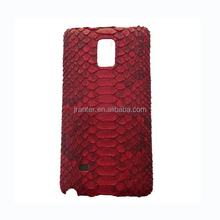Genuine Python for Samsung Galaxy Note 4 Case, Real Leather for Note 4 Case