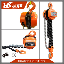 CE Marked Round Shape HSZ Manual Chain Hoist with Grade 80 Load Chain