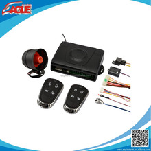 New design model security car alarm one way car alarm system with universal remotes