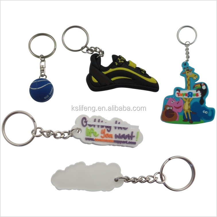 cheap keychains in bulk pvc pipe list keychain