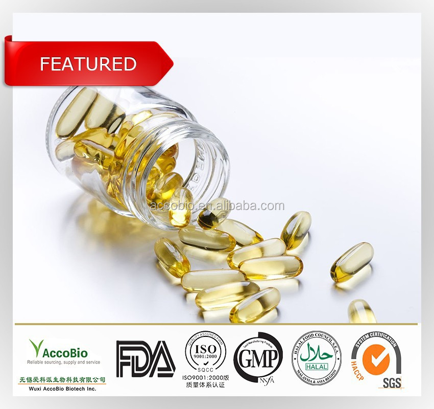 Top quality Non GMO Dietary Supplement Pure Fish Oil