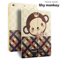 smart cover Pu leather case for ipad mini . packing case for ipad mini123.4