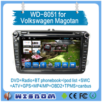 2016 new and cheap 8'' Android 2 din radio univeral car dvd player for VW gps navigation with bluetooth/3G/Wifi/SWC/DVD/BT