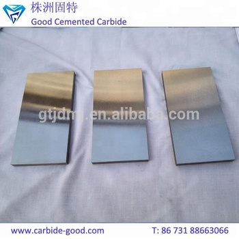 Hunan Pure Tungsten Carbide Bars Wearing Resistance Cemented Strips