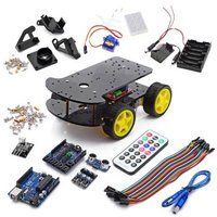Multi Functional 4WD Robot Car Chassis