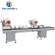 Hot sales UPVC windows making profile cutting saw machine