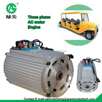 ev AC motor kit traction motor for electric car price specification