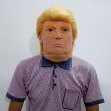 2017 Hot Selling Products Wholesale Adult Latex Donald Trump Mask Horror Rubber Halloween Party Mask Fun Costume Dress