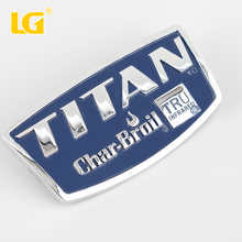 ISO9001 Ningbo OEM Hot sale High Quality Custom Decorative Zinc Nameplate