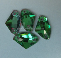 Chinese Factory Sew on Flat Back Components for Jewelry