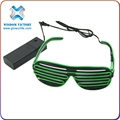 led light sunglasses , halloween EL Wire Flashing LED Sunglasses
