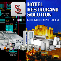 High Quality Standard Commercial Used Catering Equipment for Sale in Guangzhou