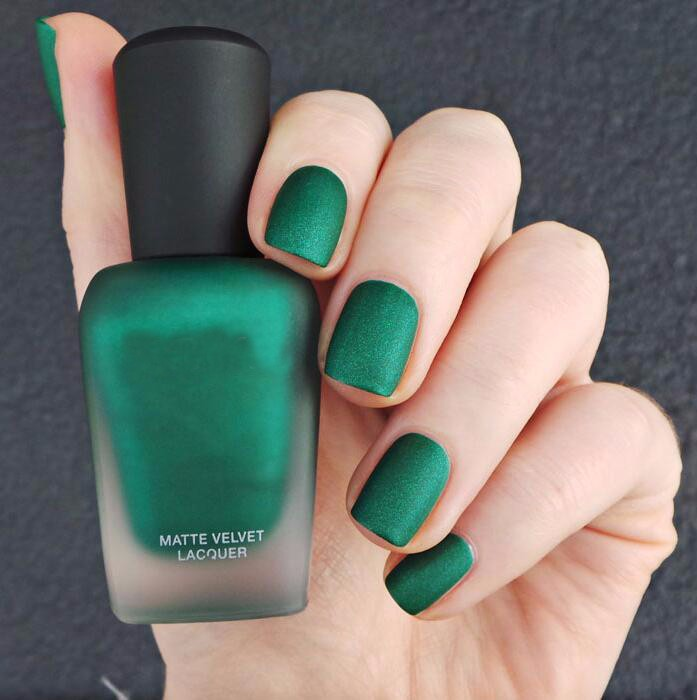Blue Nail Polish One Finger: Customize Fashion Finger Matte Liquid Blue Color Nail