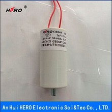 Best selling China HERO low price 3uF 450V CBB60 motor start capacitor