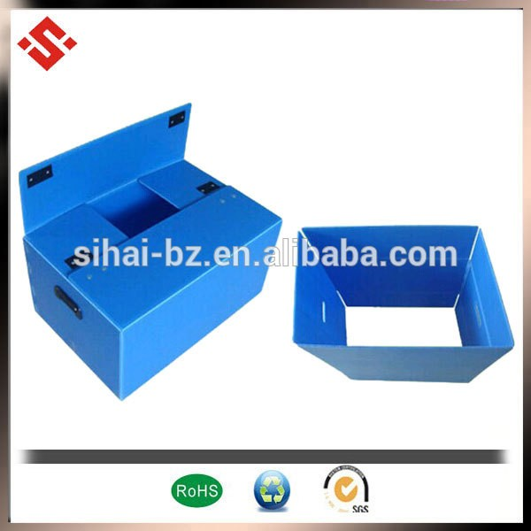 100% raw material polypropylene strong corrugated plastic packaging box beer packaging box