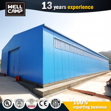 foshan single steel sheet building material commercial active warehouse