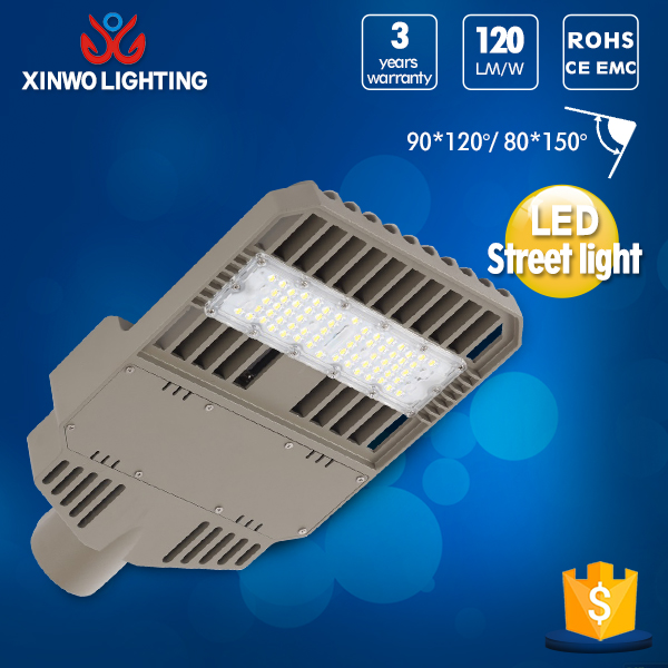50W led street light meanwell driver 3 years warranty led street light