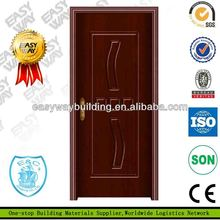 Cheap MDF Swing Sliding PVC Windows Europe style pvc doors