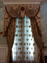 Chinese Style High Grade Emroidery Design Fashion Decorative Curtain