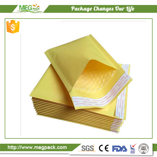 Metallic bubble mailers padded shipping maiilng envelopes