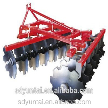 agricultural light duty offset disc harrow