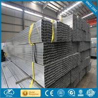 galvanized square steel pipe tube galvanized steel water pipe specifications