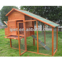 Cheapest 2 Nesting box wooden Chicken Coop with Large Run CC072