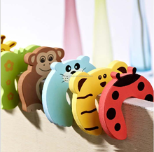 Baby Safety Sliding Door Lock Animal Shapes Door Finger Guard