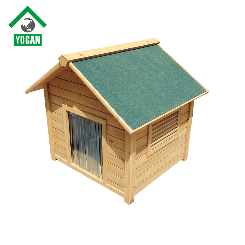 Decoration favorite outdoor wooden dog kennel factory direct wholesale