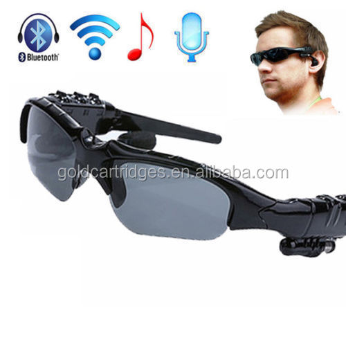 wholesale Bluetooth Stereo Sunglasses earphone headset headphone with MP3 & talk function