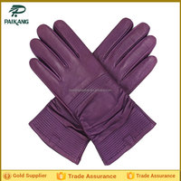 Good Quality Fashion Ladies Deerskin Leather Glove