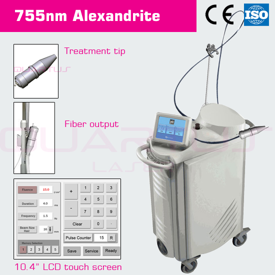 new technology alexandrite laser 755nm hair removal machine looking agent