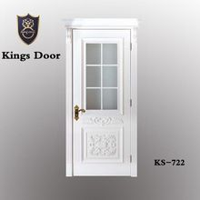 High quality interior frosted glass bathroom doors/KS-722
