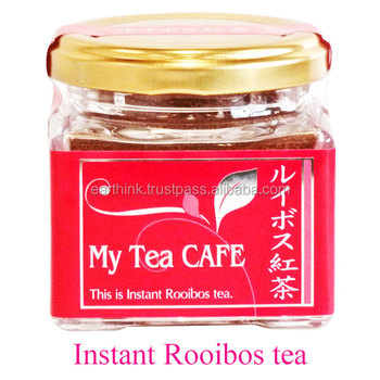 Japanese Instant Rooibos tea , tea powder Rooibos, made in Japan Japanese tea powder
